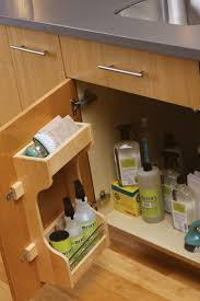 best images about clean clever storage pinterest convenient storage rack the cabinet door organizes cleaning