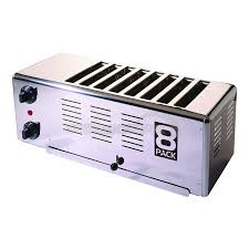 Toaster Retro 8 Pack 8 Way Oc Toaster Retro Silver Ocuk