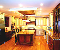 kitchen lighting ideas with the simple material kitchen ideas