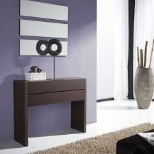 meuble egouttoir vaisselle meuble console plaquage bois wengé 2 tiroirs meuble d u0027entrée