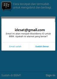 membuat akun gmail bbm cara daftar akun bbm di hp android idesatcom informasi frekuensi