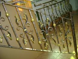 Fer Forge Stairs Design Why Choose Wrought Iron Stair Railings Luyi Forge