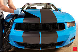 how to paint racing stripes on your car with peelable spray paint