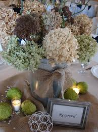 cobblestone farms wedding table centerpieces