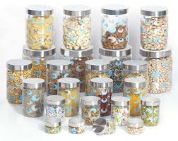 100 designer kitchen canisters decorating with glass