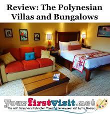 Polynesian Resort Map Review The Villas And Bungalows At Disney U0027s Polynesian Village Resort