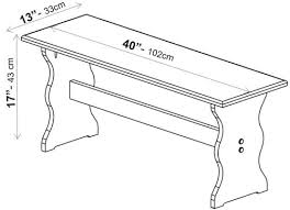 Normal Bathtub Size Bench Size Guide Dimensions Info