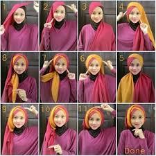 tutorial jilbab segi 4 untuk kebaya 15 tutorial hijab segi empat dua warna untuk pesta pernikahan