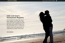 honeymoon wedding registry help centre our honeymoon registry