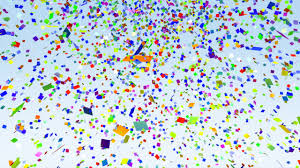 Color Paper Confetti Falling Loop Stock Animation 543128 Color Paper