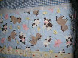 Farm Animal Nursery Decor Barnyard Baby Quilt E2 80 94 Crafthubs Thread Farm Animal My