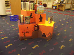 top halloween books library display halloween 2012 by singing light