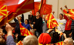 Macedonian Flag Beam Us Up Scotty Fyrom Rejects Acronym As Too U201cklingon U201d The