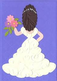 Bride Cards Wedding Or Bridal Shower Card You Could Probably Alter It For A