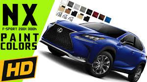 lexus nx hybrid usa 2015 lexus nx colors u0026 360 configurator youtube
