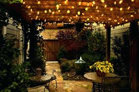 Exterior Patio Lights Outdoor Patio Lights Commercial Patio String With Clear Outdoor