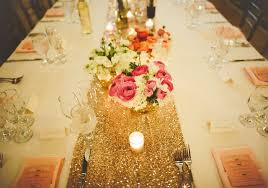 sequin table runner wholesale wholesale 4pcs pack silver gold sequin table runner for event party