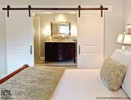 Barn Board Bathroom Bypass Barn Door Living Room Eclectic With Barn Board Barn Door