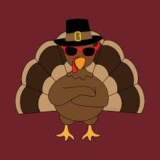 cool turkey with sunglasses happy thanksgiving thanksgiving