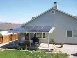 Awning Direct Residential Grid Direct Photovoltaic System Summers Residence