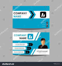 id card graphic design layout design template id card business stock vector 540565339