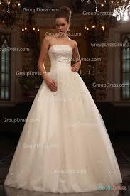 blingbling strapless sequined floor length fall wedding dress