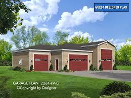 garage plan 2264 fv g hip house plans by garrell associates inc