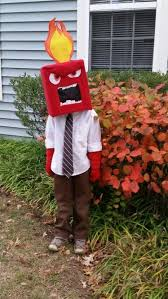 Diy Halloween Costumes Kids Idea Diy Anger Halloween Costume Idea Diy Halloween