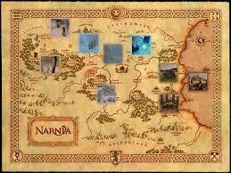 Narnia Map Narnia En Español Narnia U003e Galeria U003e Imagenes