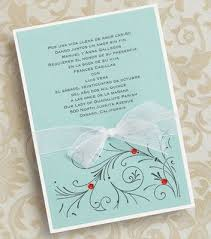 Wedding Invitations In Spanish Quinceanera Invitations Wording In Spanish Badbrya Com