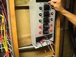 generator transfer switch wiring youtube