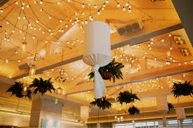 Ceiling String Lights by Parties U0026 Catering U2013 Summer House Santa Monica