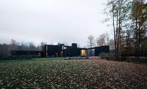 architecture kitchen canada family cottage by les architectes