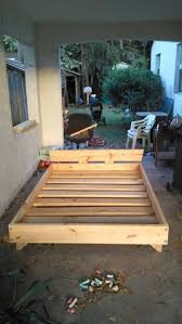 Simple Queen Platform Bed Plans by A Better Plan So You Don U0027t Stub Your Toes Diy Projects