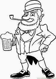 top 10 leprechaun coloring pages for st patrick u0027s day