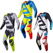 motocross gear fox racing 180 nirv mens motocross jerseys