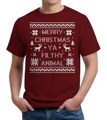 merry ya filthy animal t shirt fivefingertees