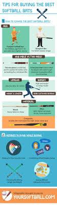 best softball bats infographic tips for buying the best softball bats