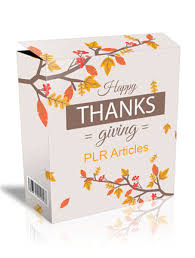 thanksgiving plr articles 2 with lable rights