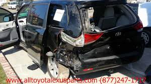 parting out 2012 toyota sienna stock 3018bk tls auto recycling