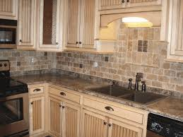 natural stone backsplash ideas neatly stack round stone wall tile