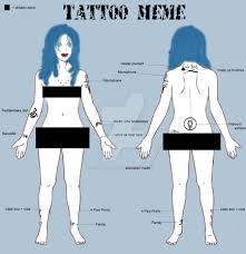 tattoo girl meme tattoo meme ii by tarla trent on deviantart