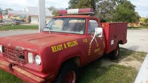 Utility Bed For Sale Dodge Ram 3500 Utility 1976 Red For Sale W24be7s048087 1976 Dodge