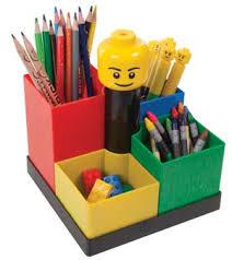 disc lego art carousel desk organiser