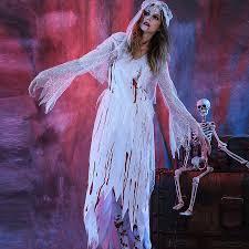 Ghost Bride Halloween Costume Cheap Bruid Halloween Kostuum Aliexpress Alibaba