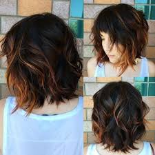 jagged layered bobs with curl 50 most magnetizing hairstyles for thick wavy hair