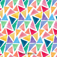 triangle pattern freepik colorful watercolor triangles pattern vector free download