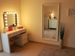 bedroom 45 indulging wall mounted lighted vanity also lighted