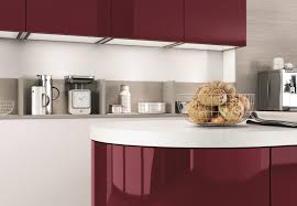 Red Gloss Kitchen Doors Wine Red Lacquer Kitchens From Lwk Kitchens