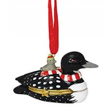 loon ornaments lodge products by region cape shore